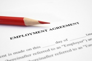 Darren D. McClain reviews employment agreements